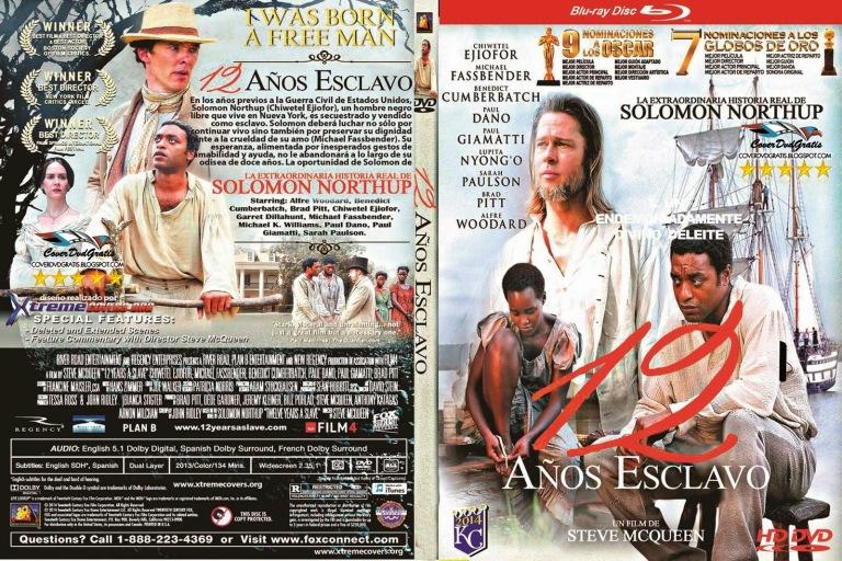 12 años de esclavitud - 12 Years a Slave coverdvdgratis.blogspot V11